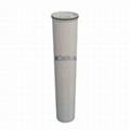 Pleated High Flow Filter Cartridges
