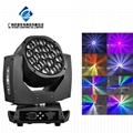 19*15w big bee eye led moving head light high power led stage  1