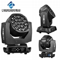 19*15w big bee eye led moving head light high power led stage  4