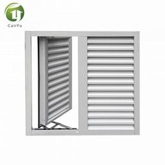 Top quality aluminum shutter window