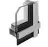 aluminum double hung windows upward opening