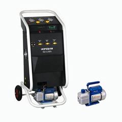 R134a refrigerant recovery machine ac service station