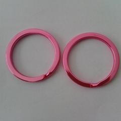 厂家直销质量保证彩色钥匙圈