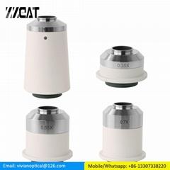 0.35X 0.55X Microscope Camera Adapter C mount Adapter for Nikon Microscope