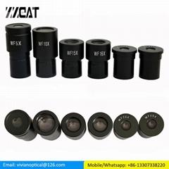 Wide Angle Eyepiece Microscope 5X 10X 15X 20X 25X Biological Microscope Lens