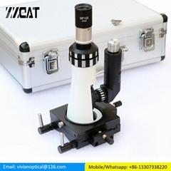 Polarizing Light Microscope Handheld Portable Metallographic Microscope