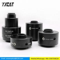 0.5X C Mount Microscope Camera Adapter Trinocular Microscope Reduction Lens