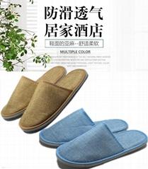 hotel one time linen slipper