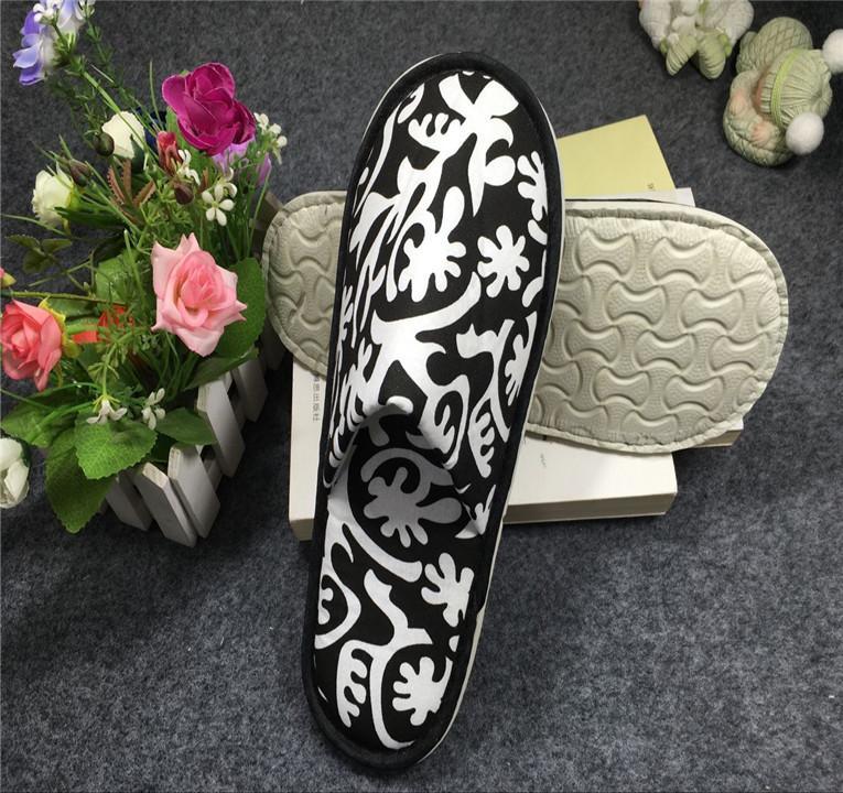 厂家直销新款酒店宾馆拖鞋 居家待客专用拖鞋 2