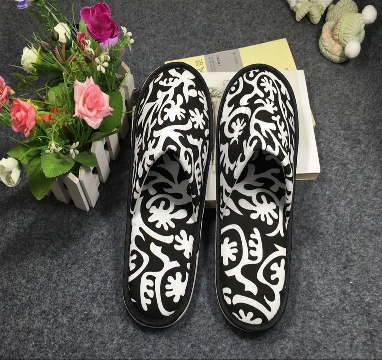 厂家直销新款酒店宾馆拖鞋 居家待客专用拖鞋 4