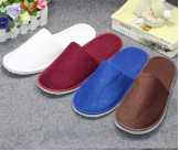 hotel disposable high-grade towel slippers