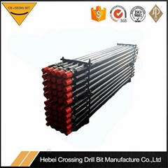 HDD Machine One Piece Forged Drill Pipe Drill Rod