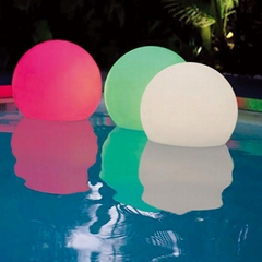 Cleverwide Factory Sell Outdoor Inflatable LED Solar Floating Ball Light
