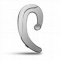 Non-ear Plug Wearing Wireless Earbud Sweatproof Sports Bluetooth Ear Hook