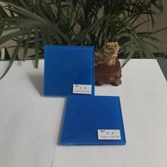 opaque blue EVA film for laminated glass