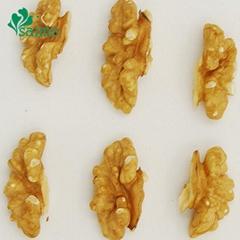 Grade A Dried Wholesale Light Quarter Walnut Kernel 1/4