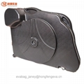 ABS Bike Case for Mountain Road Bicycle Travel Transport Case Black 3