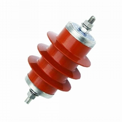 10kv Power Distribution Lightning Arrester Zinc Oxide Lightning Arrester