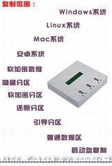 台湾佑华1托2便携式U盘拷贝机 UB300
