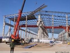 山东曲阜东方钢结构工程公司专业设计 制造 安装各类钢结构