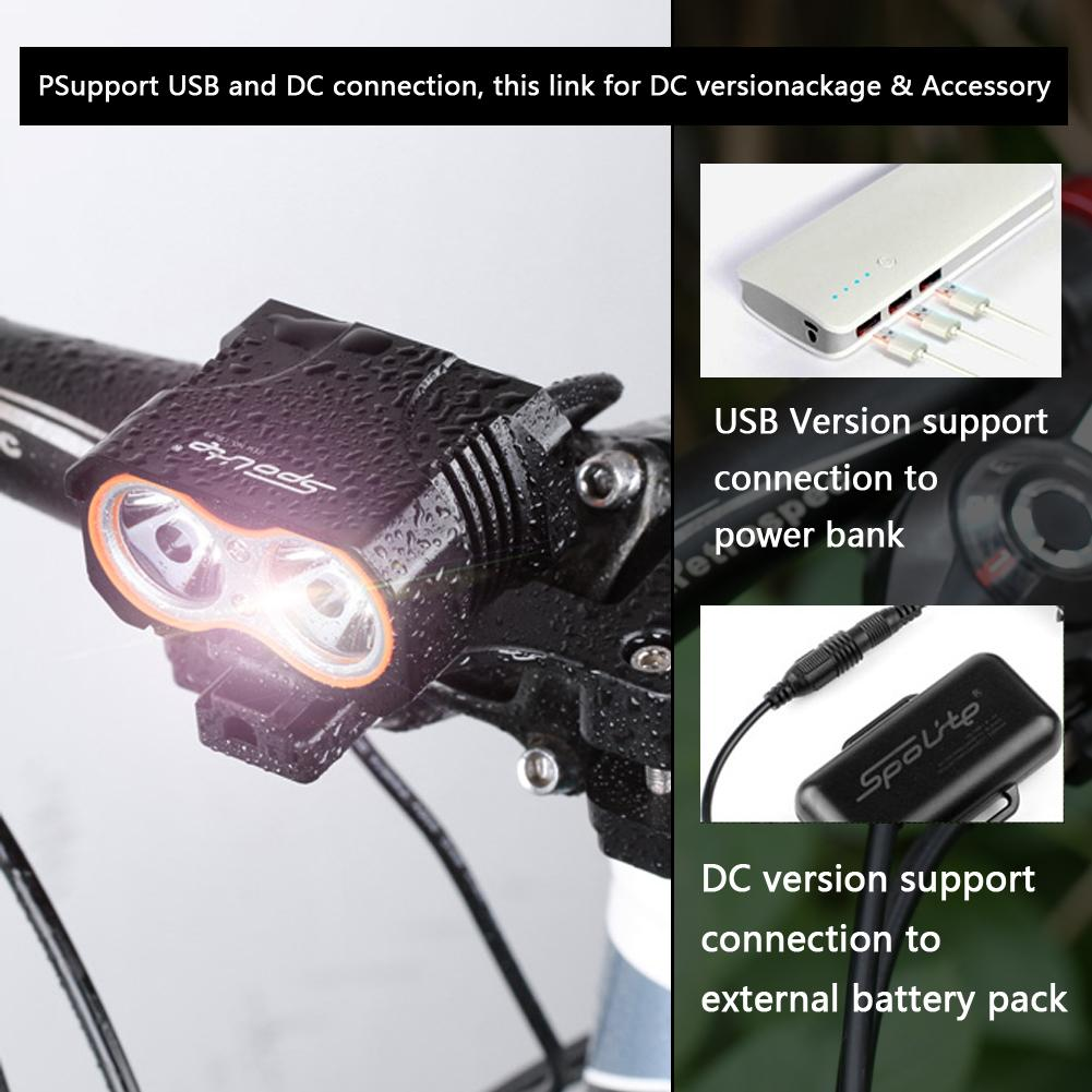 Powerful Lumens Bike Light USB Rechargeable Bicycle Light 4