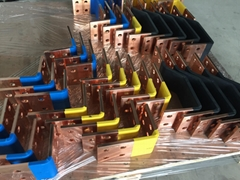 Hight quality copper busbar processing with machine and mould  import from Korea