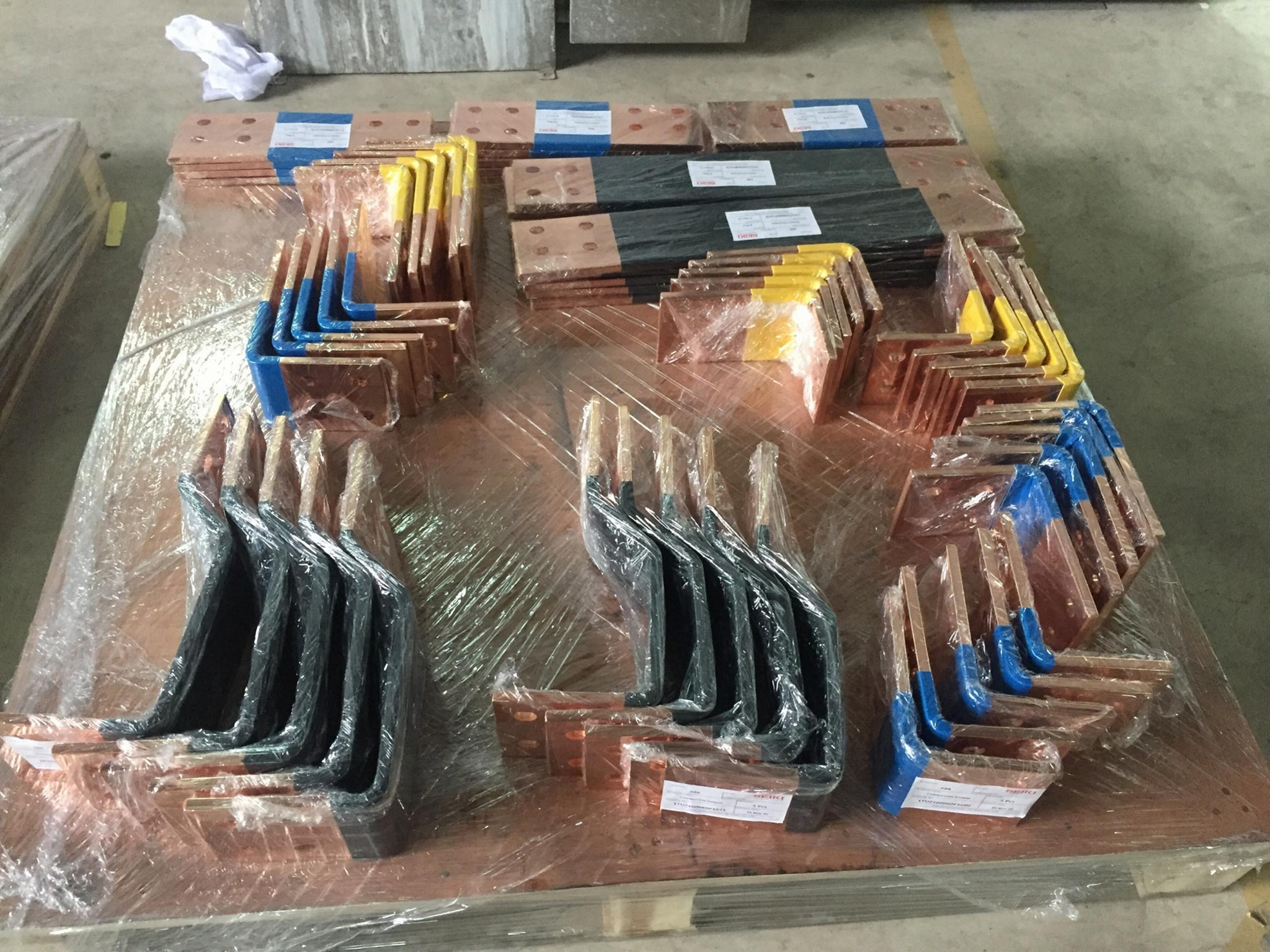 Hight quality copper busbar processing with machine and mould  import from Korea 3