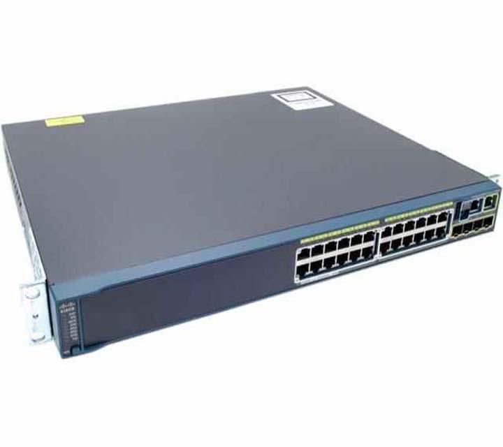 Cisco Catalyst 2960S 24 Port PoE Gigabit Ethernet Switch WS-C2960S-24PS-L with u 3