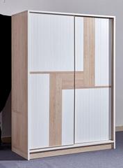 All Aluminum Home Furniture Modern Cabinet Bedroom Sliding Door Wardrobe