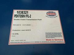 PENTOSIN FFL-2 双离合变速箱油