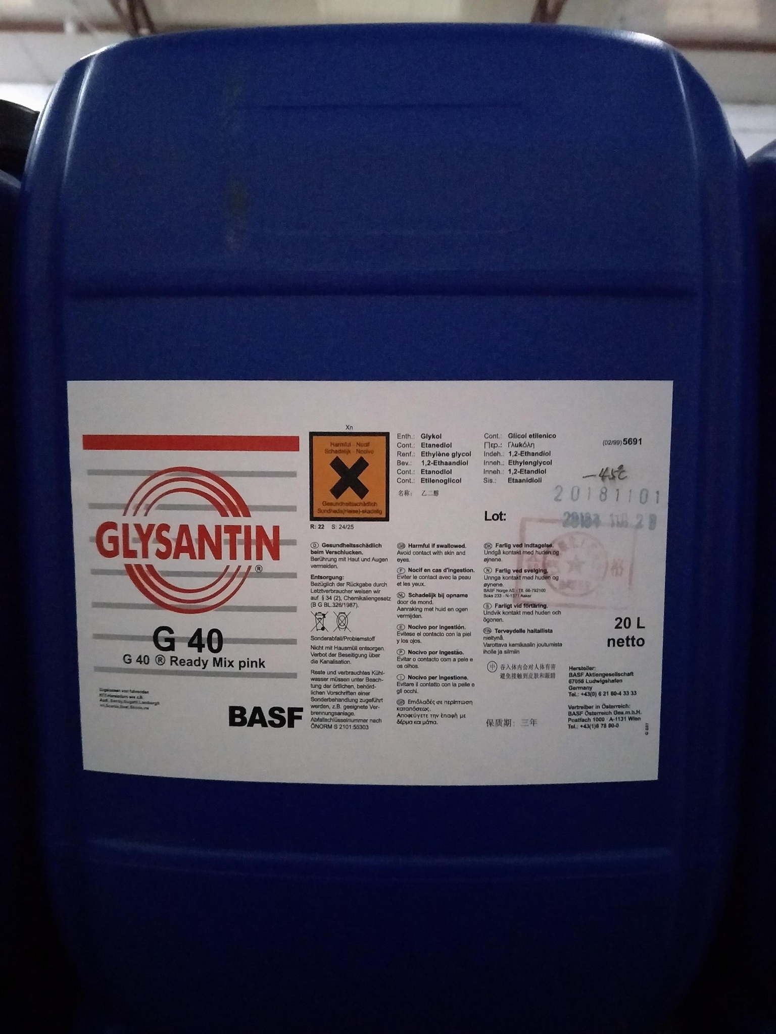 GLYSANTIN G40 Ready Mix pink