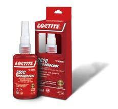 乐泰红色高强度螺丝锁固胶丨LOCTITE 262C