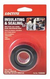 樂泰黑色多用途彈性扎帶丨LOCTITE Insulating & Sealing Wrap