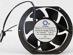17251 12-24V DC  Axial Flow Fan 172*150*51