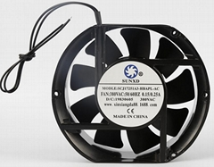 17251 Item AC Axial Flow Fan  With Ball Bearing