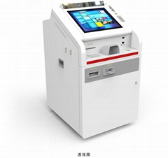 Magnetic stripe encoding Integrated Card Printing Kiosk BST260T-AQ1