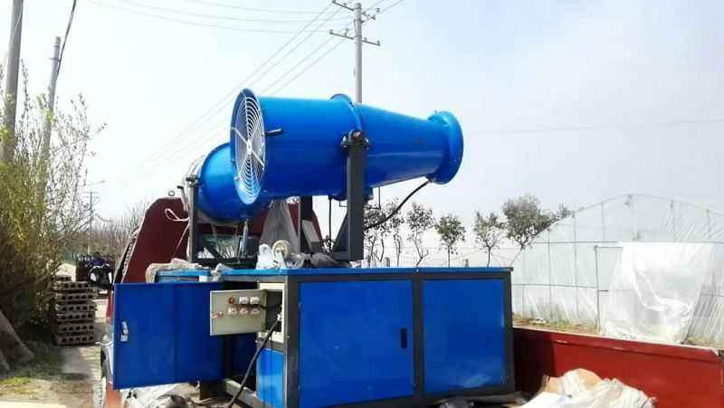 陕西工地手推式风送式喷雾机 4