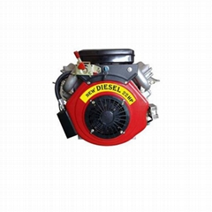 Air Cooled V-Twin Cylinder Diesel Engine 25HP
