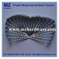 電鍍鋅搓絲杆瓦楞釘