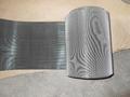 Reverse twilled micron mesh cloth