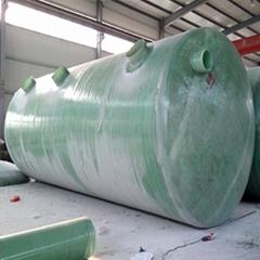 廠家直銷玻璃鋼一體化污水處理設備