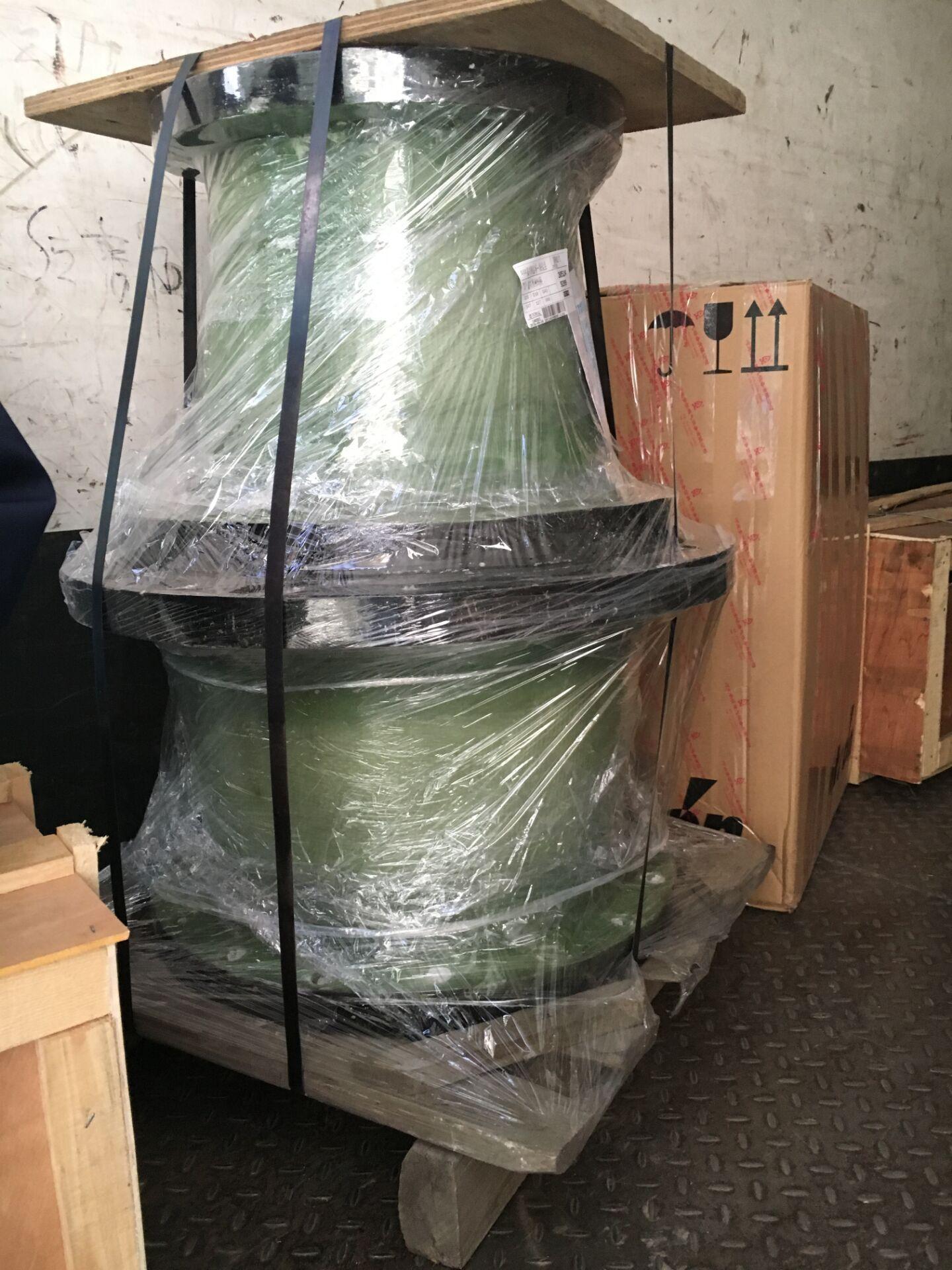 廠家直銷玻璃鋼法蘭玻璃鋼三通彎頭 1