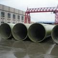 廠家直銷玻璃鋼管道頂管夾砂管 4