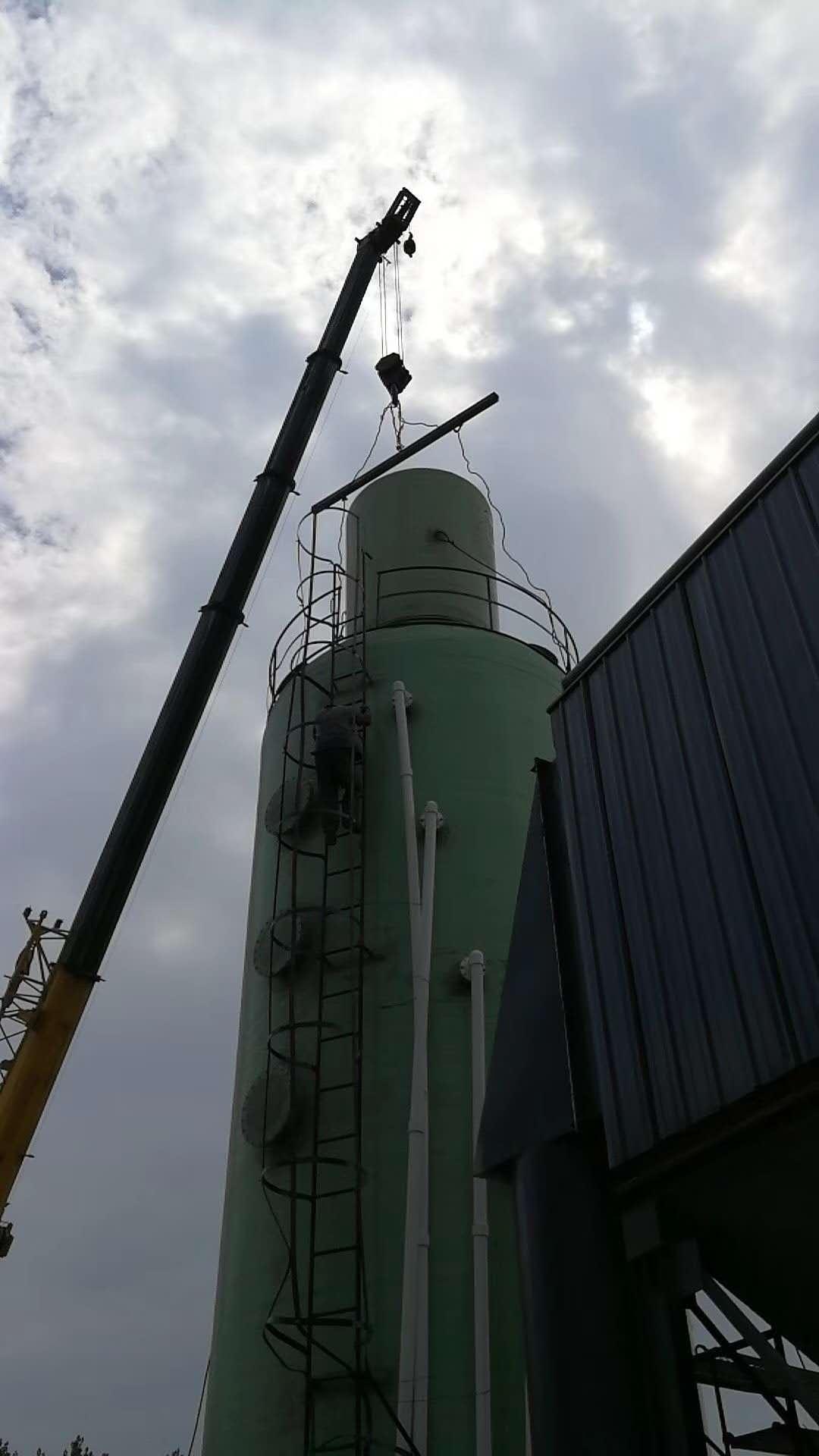 廠家直銷大型玻璃鋼脫硫塔達標 5