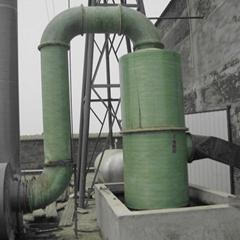 廠家直銷玻璃鋼除塵器吸附塔環保設備