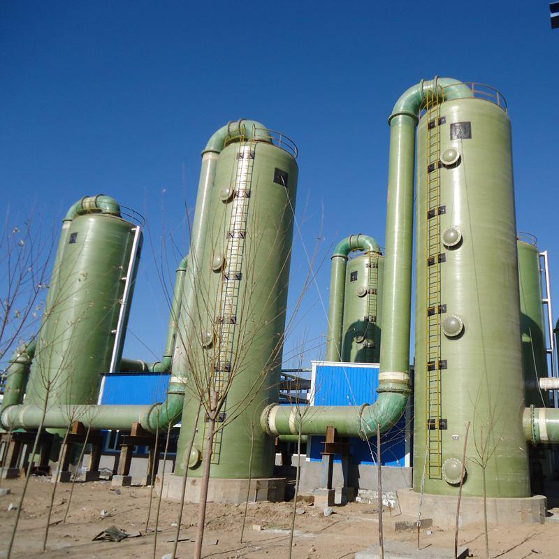 廠家直銷玻璃鋼除塵器吸附塔環保設備 4