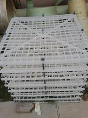 廠家直銷玻璃鋼填料PP填料蜂窩斜管填料