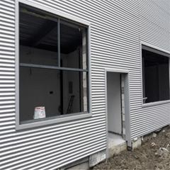 4S店常用墙面装饰板  836型 铝镁锰波纹板