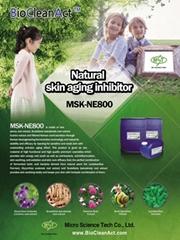 Cosmetic ingredient(Natural skin anti-aging inhibitor)