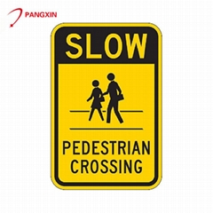 Hot selling road illuminated traffic warning sign
